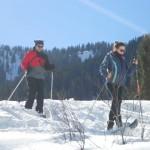 Winterlandschaft im Lammertal