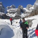 Schneeschuhwandern im Lammertal