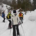Gemeinsam Schneeschuhwandern