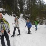 Schneeschuhwanderung im Lämmerhof
