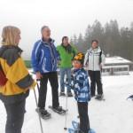 Schneeschuhwandern eignet sich für Jung und Alt