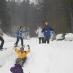 Begleitete Schneeschuhwanderung mit den Gastgebern des Alpengasthofs Lämmerhof