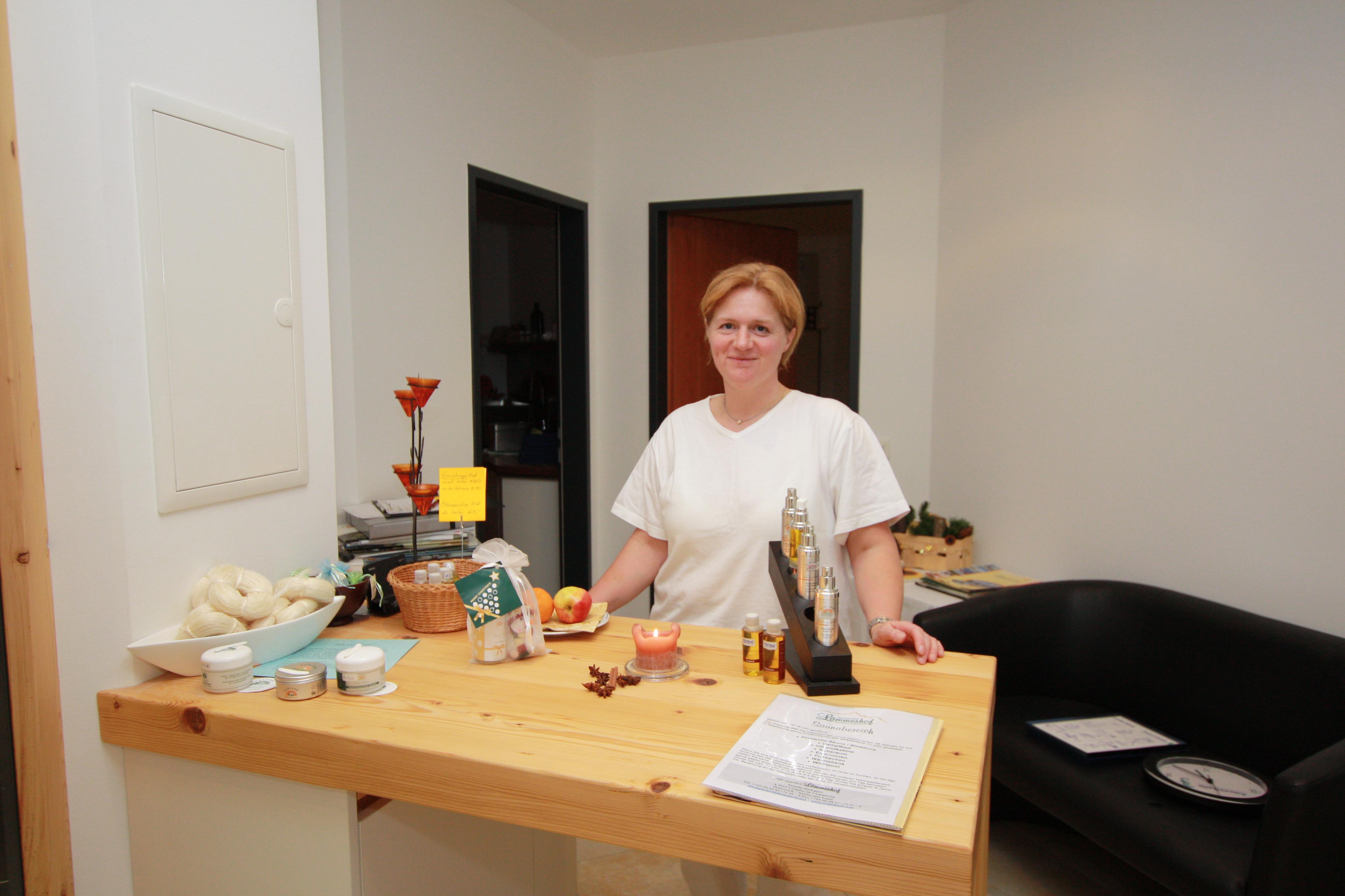 Persönliches Beratungsgespräch für Massagen und Anwendungen