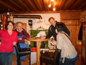 Heimatwochen im Lammertal mit Verkostung beim Schnapsbrenner