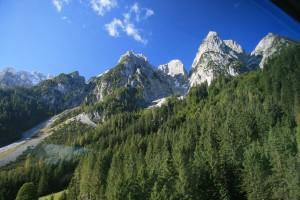 Der große Donnerkogel im Gosaukamm zwischen Oberösterrreich und Salzburg