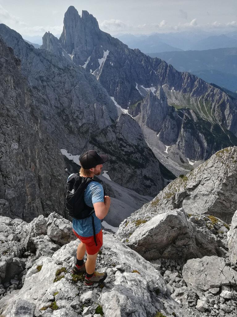 Top Gipfelwanderungen im Gosaukamm: Mandlkogel
