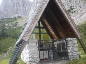 Wegen den verunglückten Bergsteiger, wurde eine Kapelle errichtet