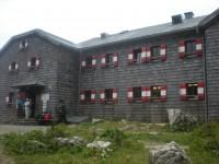 Hofpürgelhütte auf der Gosaukammrundwanderung