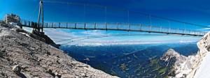 Hängebrücke am Dachsteingletscher
