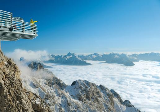 Dachsteingletscher mit Skywalk