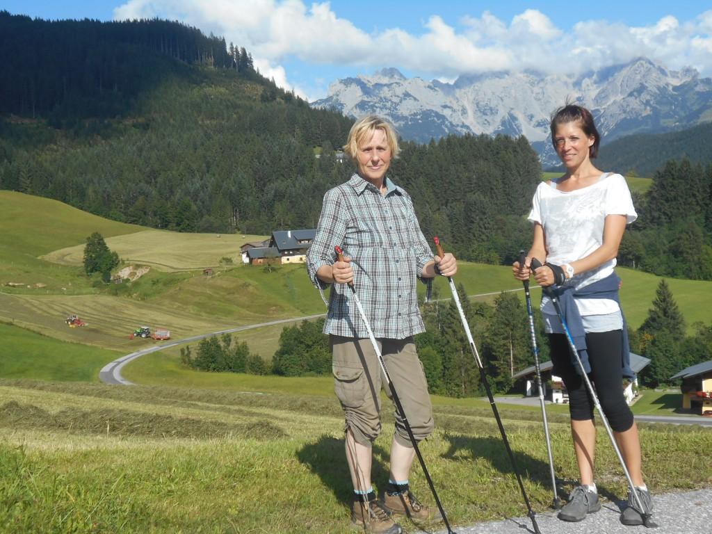 Nordic-Walking Tour durch das Lammertal