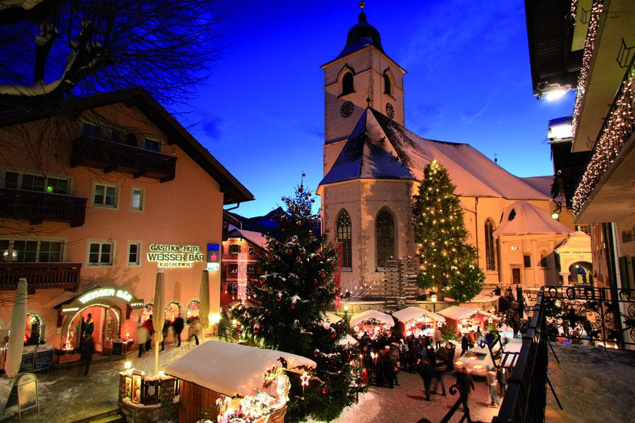 Weihnachtsmarkt im Salzkammergut