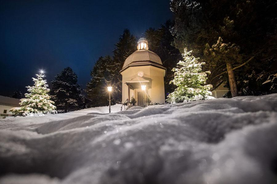 Stille Nacht Kapelle im Salzburger Land