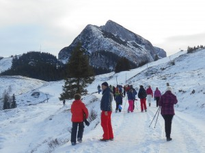 Winterwandern in Dachstein West