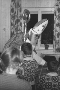 Der Nikolaus am Lämmerhof in den 40er Jahren - Weihnachten vor 100 Jahren