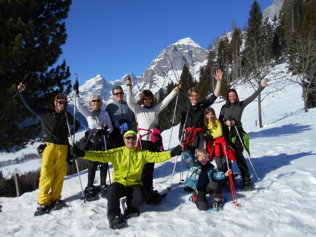 Schneeschuhwandern im Salzburger Land