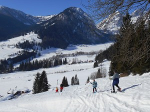 Schneeschuhwanderung im Lammertal - Salzburger Land