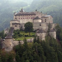 Festung Hohenwerfen in Werfen im SalzburgerLand