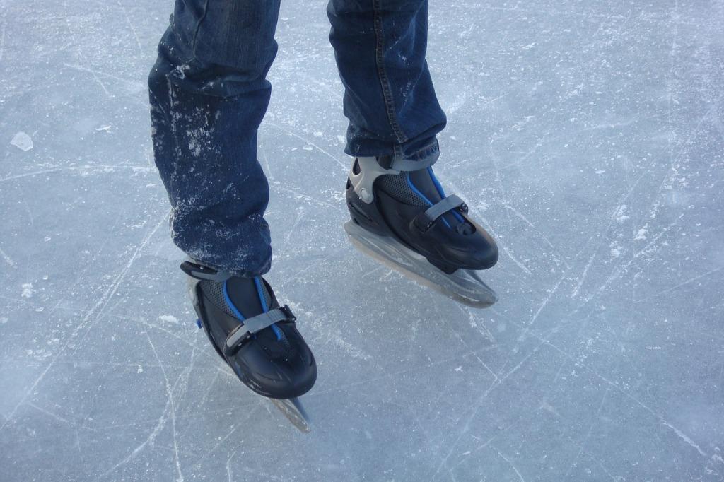 Eislaufen im Winterurlaub im Lammertal