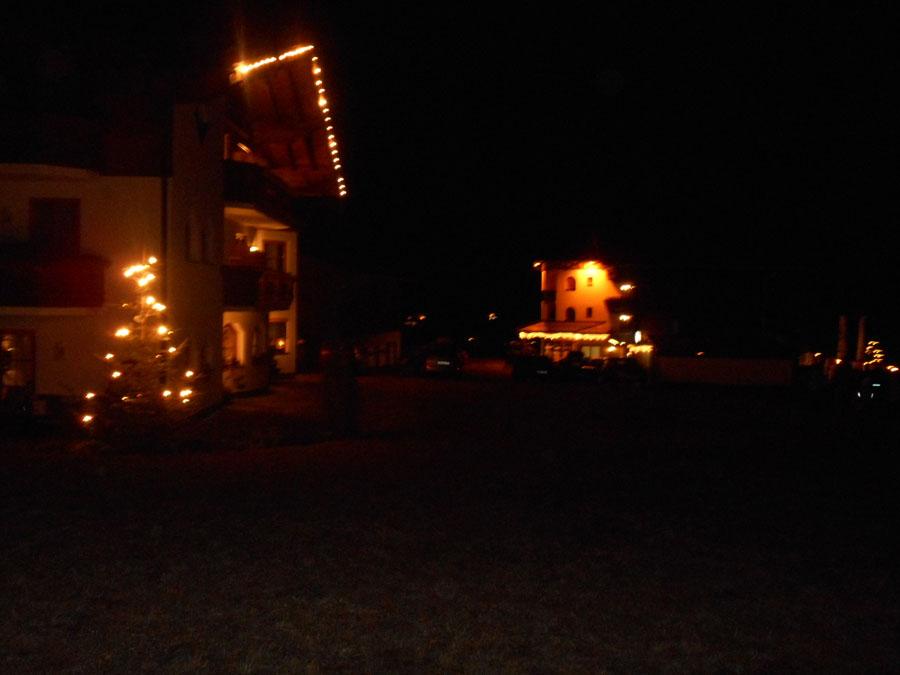 Alpengasthof Lämmerhof im Lammertal zu Silvester
