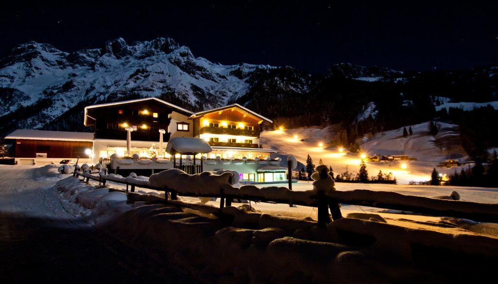 Alpengasthof Lämmerhof mit Skilift