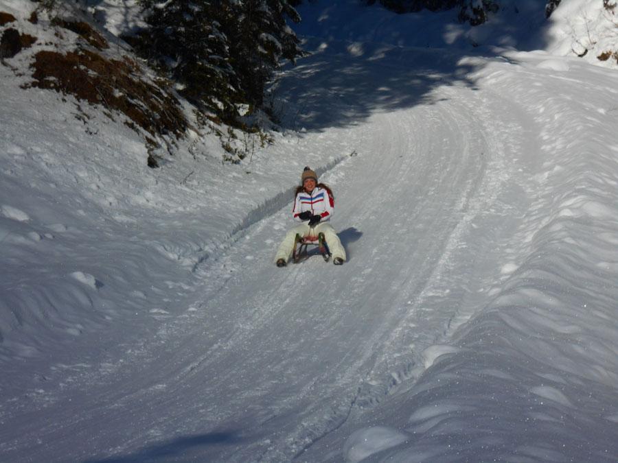 Winterwandern rodeln sittleralm 14 laemmerhof 39 s blog for Fischteich im winter