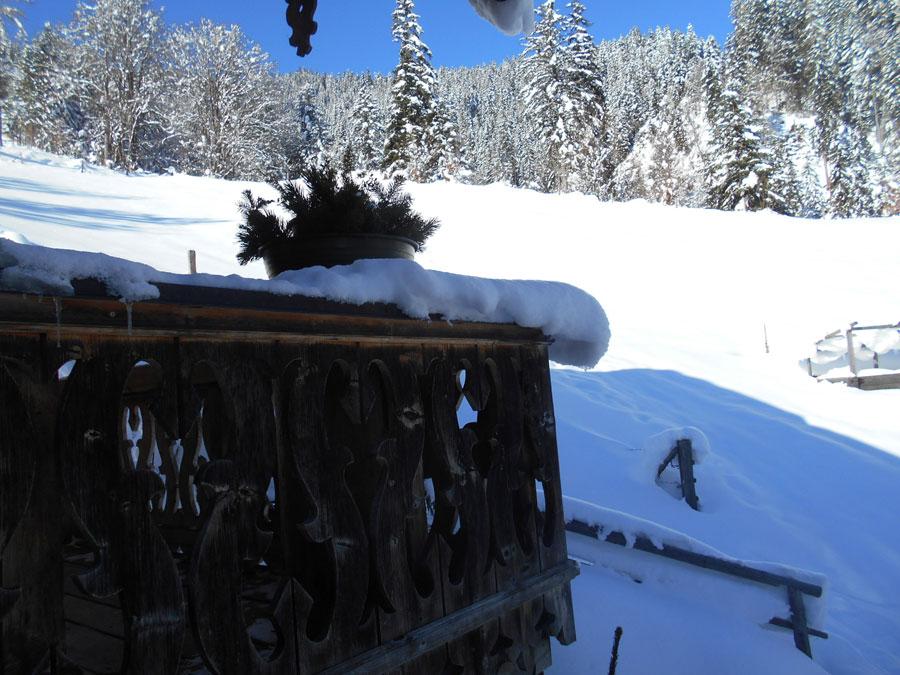 Winterwandern rodeln sittleralm 7 laemmerhof 39 s blog for Fischteich im winter