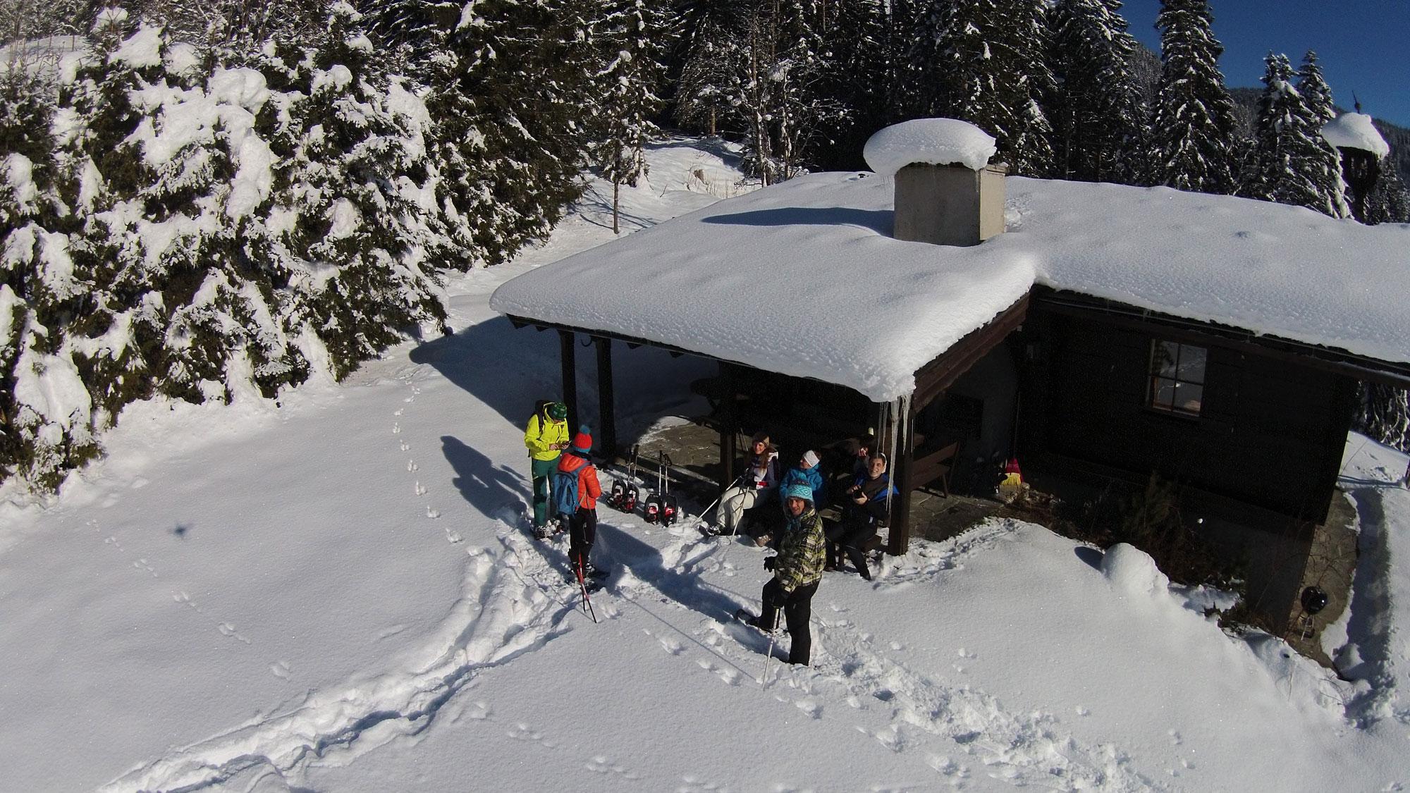 Huettenwanderung lammertal winter laemmerhof 39 s blog for Fischteich im winter