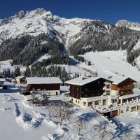 Hotel in den Bergen des Salzburger Landes
