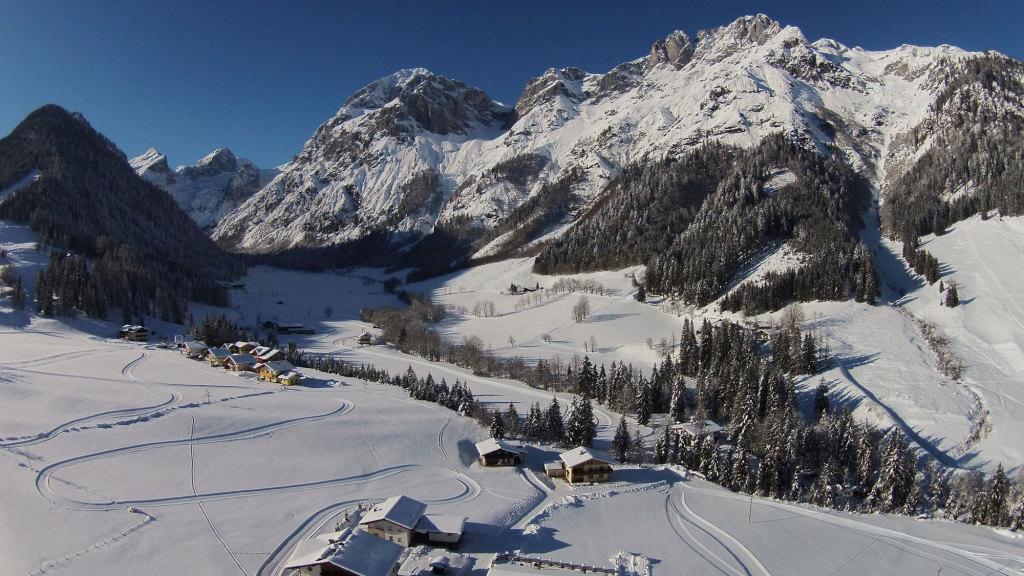 Tennengebirge im Salzburger Land im Winter