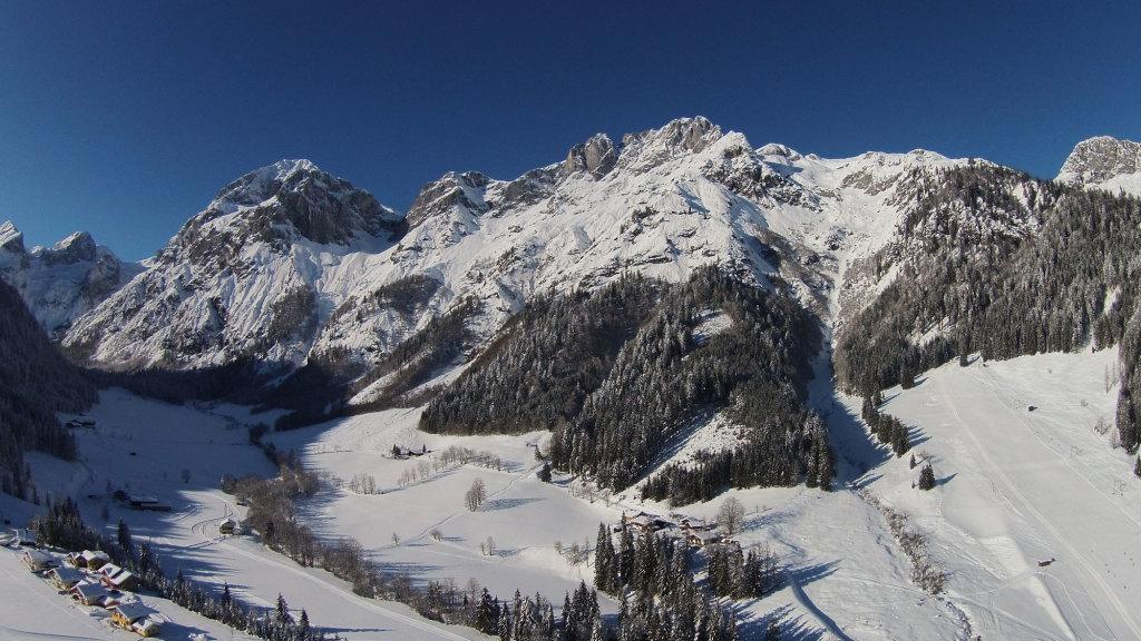 Tennengebirge, Fritzerkogel und Skilift