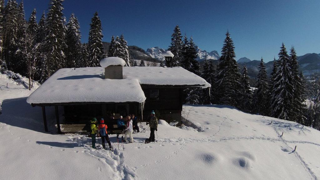 Winterwanderung im Salzburger Lammertal