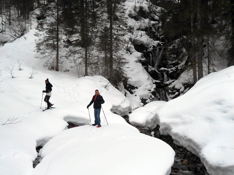 Schneeschuhwanderung karalm 23 laemmerhof 39 s blog for Fischteich im winter