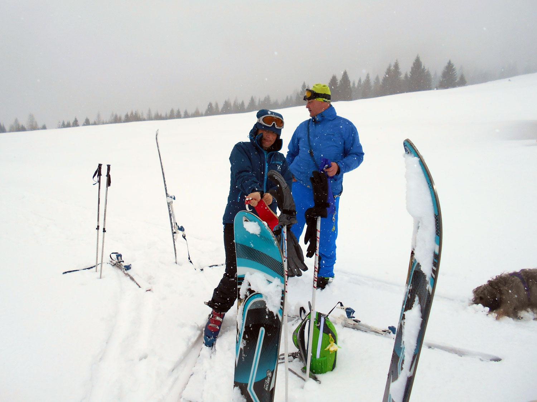 Skitour lammertal maerz 14 laemmerhof 39 s blog for Fischteich im winter