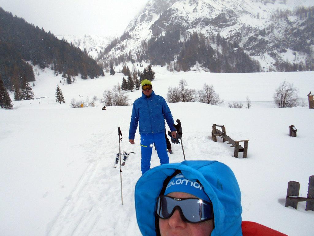 Skitour lammertal maerz 17 laemmerhof 39 s blog for Fischteich im winter