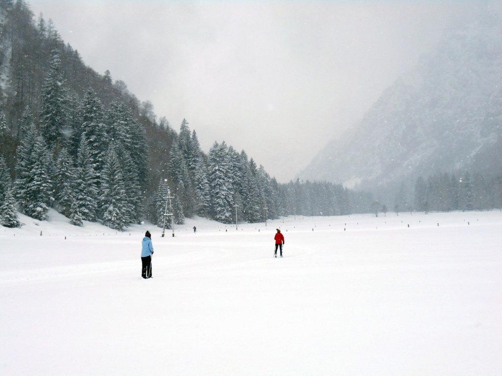 Skitour lammertal maerz 5 laemmerhof 39 s blog for Fischteich im winter