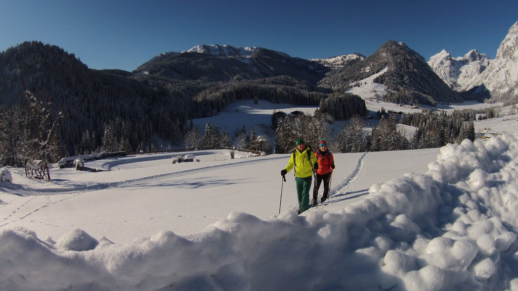 Alternativer Wintersporturlaub im Lammertal