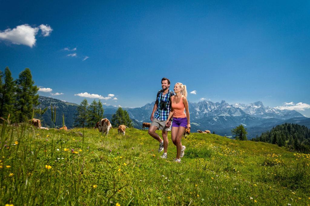 Wandern im Sommerurlaub in St. Martin am Tennengebirge im Lammertal