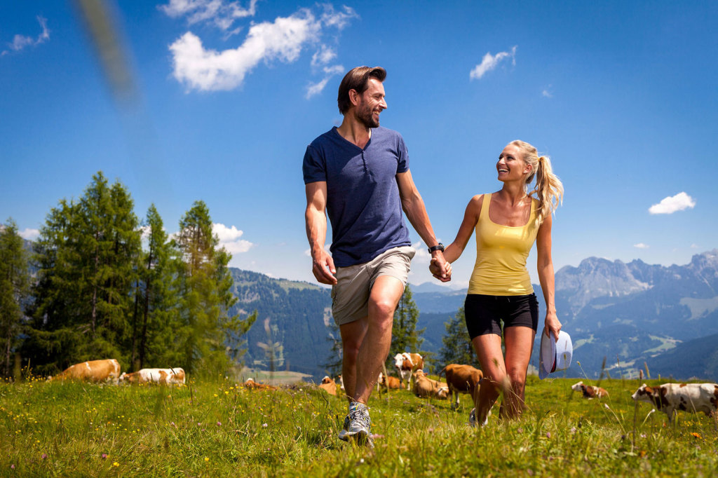 Almwandern im Salzburger Land
