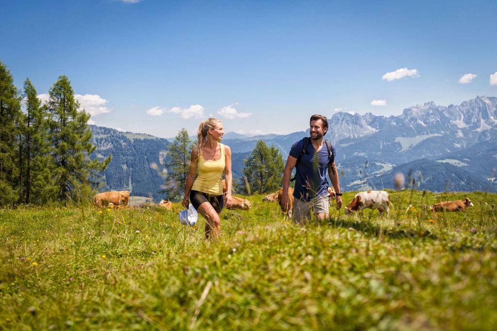 Gemütlich wandern im Salzburger Land