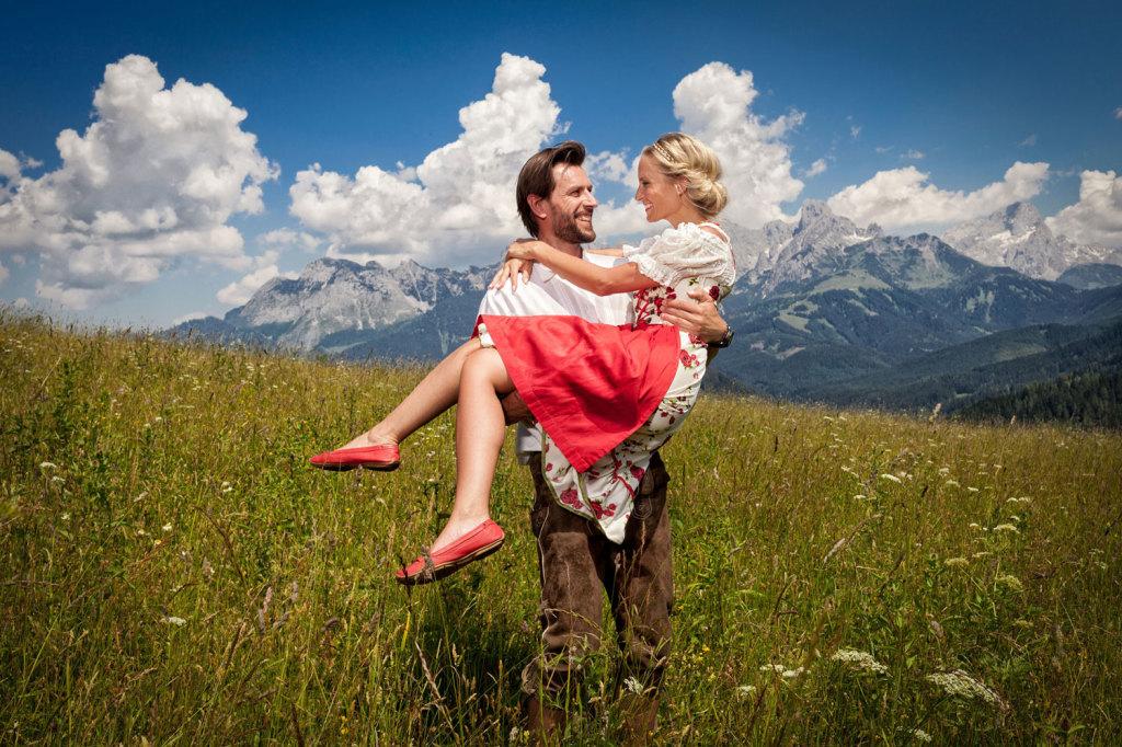 Ruhiger Sommerurlaub in den Salzburger Bergen