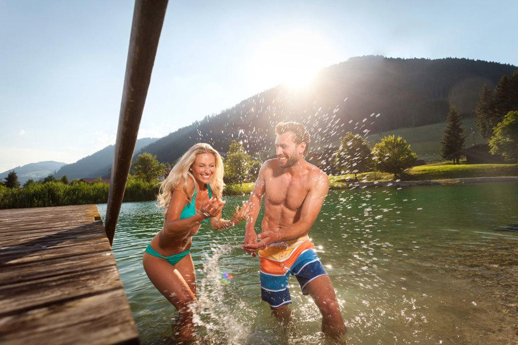 Schwimmen in St, Martin am Tennengebirge