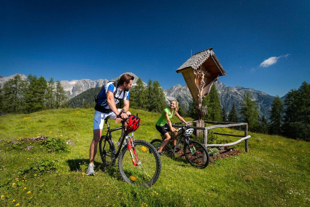 Mountainbikeurlaub in St. Martin am Tennengebirge