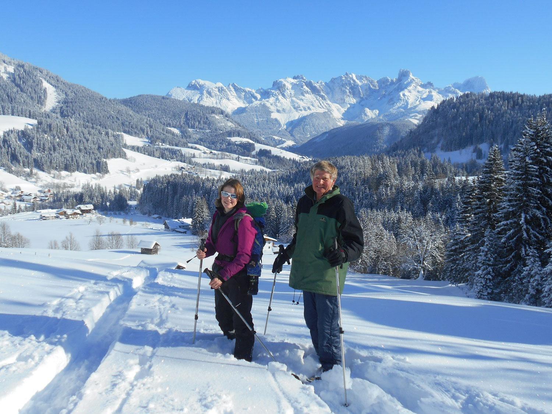 Schneeschuhwanderung spiessalm kw2 11 laemmerhof 39 s blog for Fischteich im winter