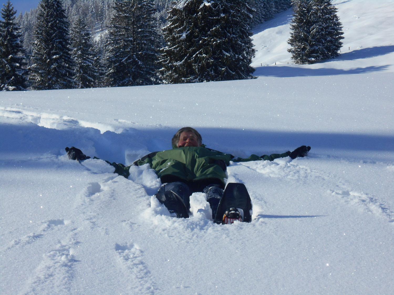 Schneeschuhwanderung spiessalm kw2 12 laemmerhof 39 s blog for Fischteich im winter