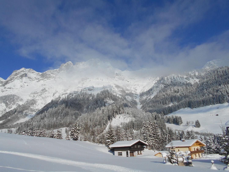 Schneeschuhwanderung spiessalm kw2 2 laemmerhof 39 s blog for Fischteich im winter