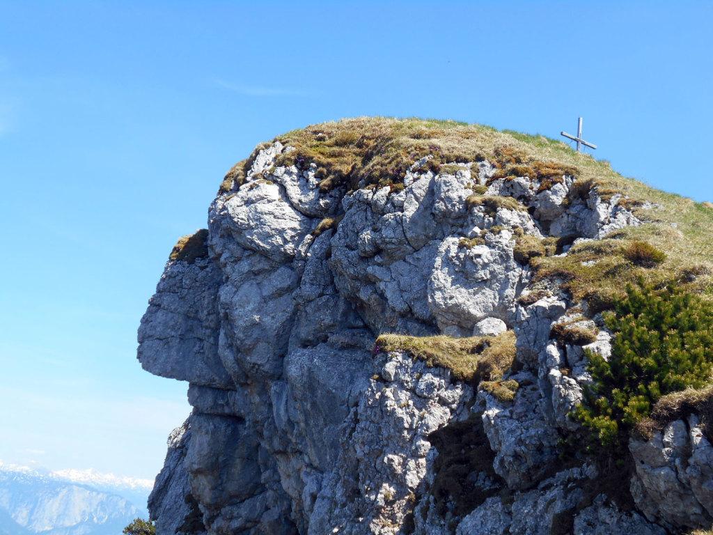 Kalmberg Indianer Felsformation nahe der Goiserer Hütte