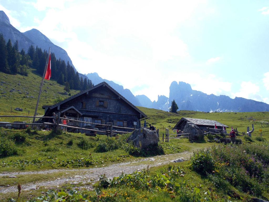 Die Stuhlalm im Sommer 2017