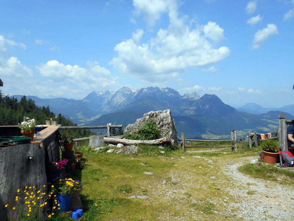 Blick auf das Tennengebirge