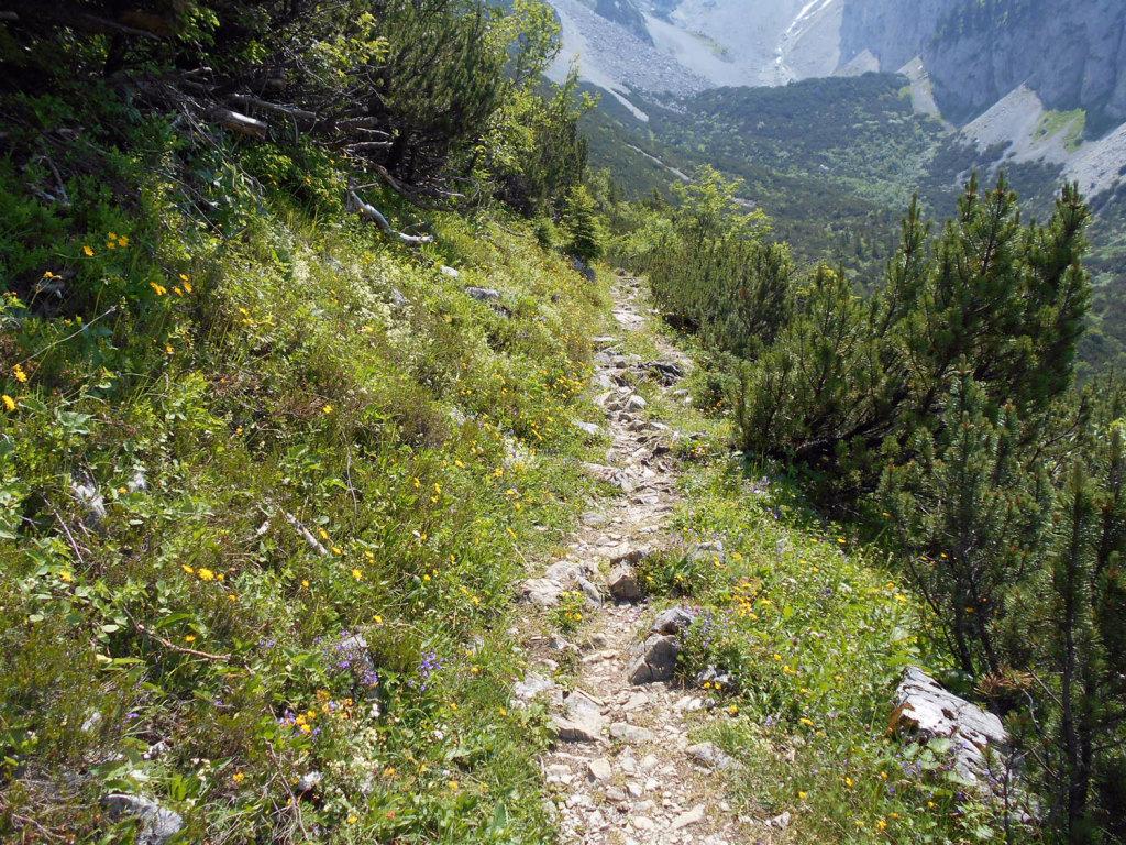 Wanderweg zum Stuhlloch